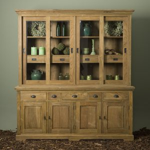 Buffet Cabinet Bologna Gerecycled Teak 204cm Towerliving