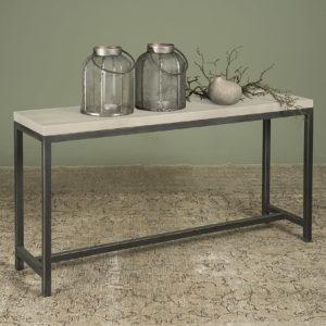 Side-tafel Breton Beton Met Staal 135 cm