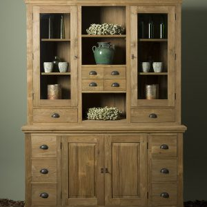 Buffet Cabinet Bologna Gerecycled Teak 164cm Towerliving