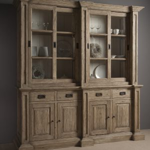 Cabinet Monza Gereycled Grenen 207cm Towerliving