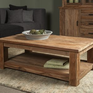 Coffeetable Lorenzo Gerecycled Teakhout 130cm Towerliving